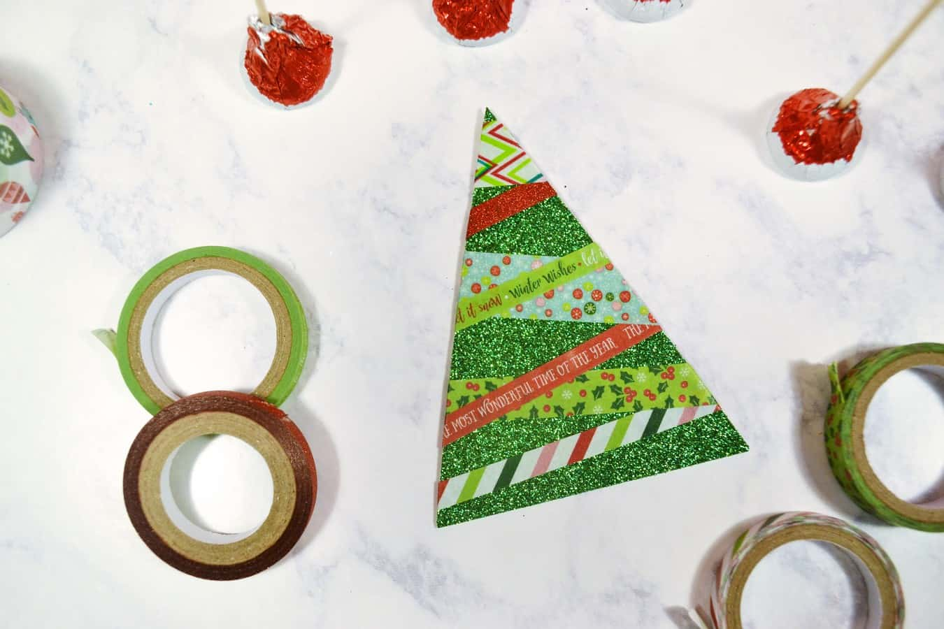 Make Paper Christmas Trees 3