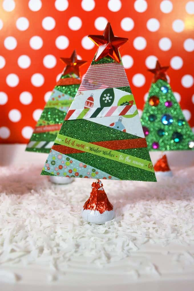 Make Paper Christmas Trees 7