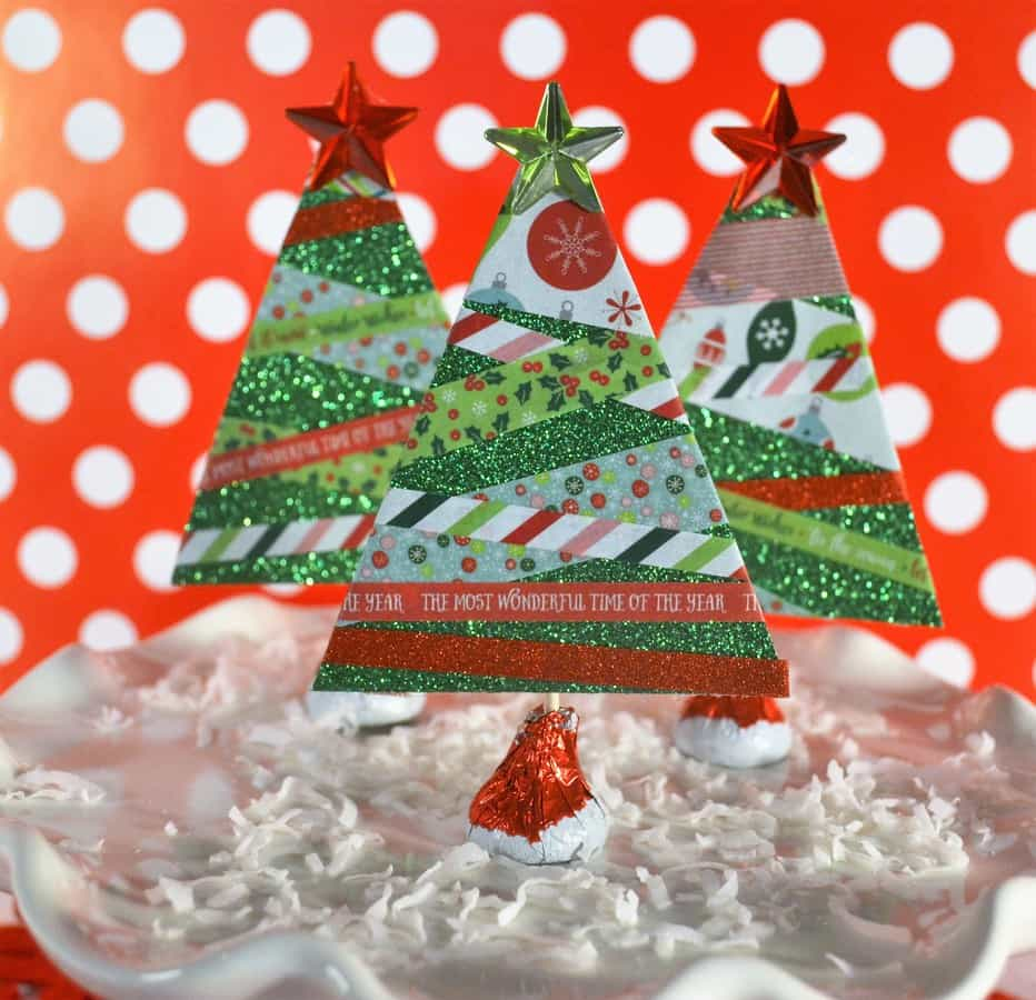 Make Paper Christmas Trees 5