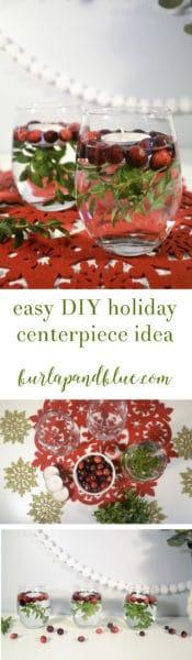 holiday centerpiece idea