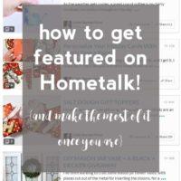 How to Increase Blog Traffic {Using Hometalk}