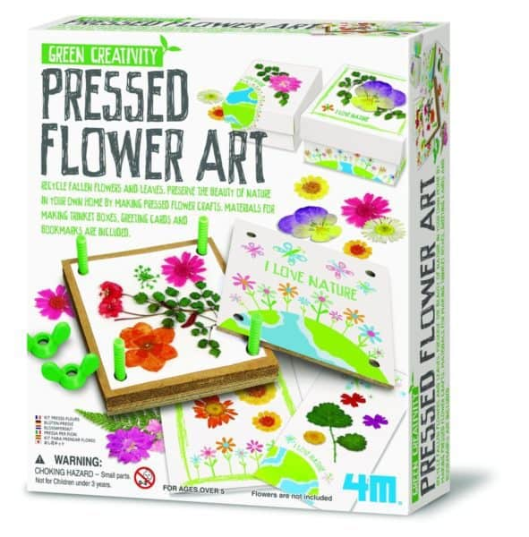 pressed flower kit
