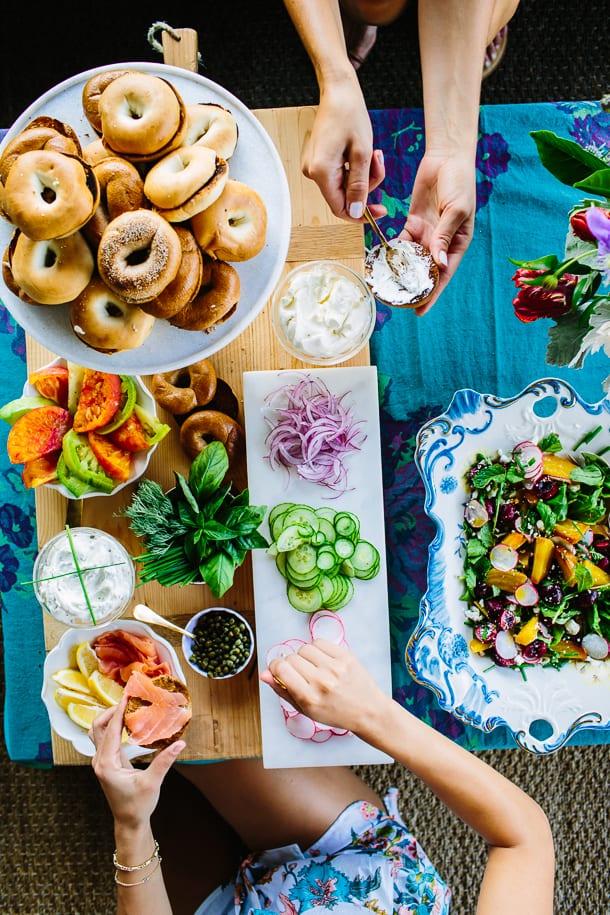 diy food bar ideas