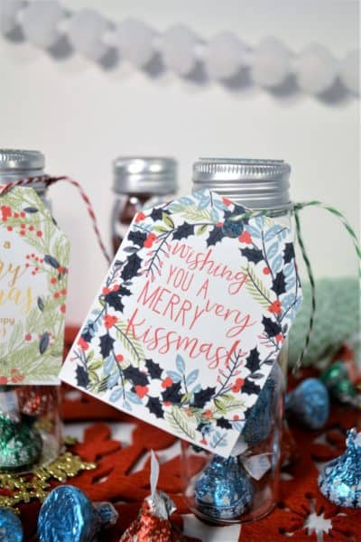 merry kissmas printables