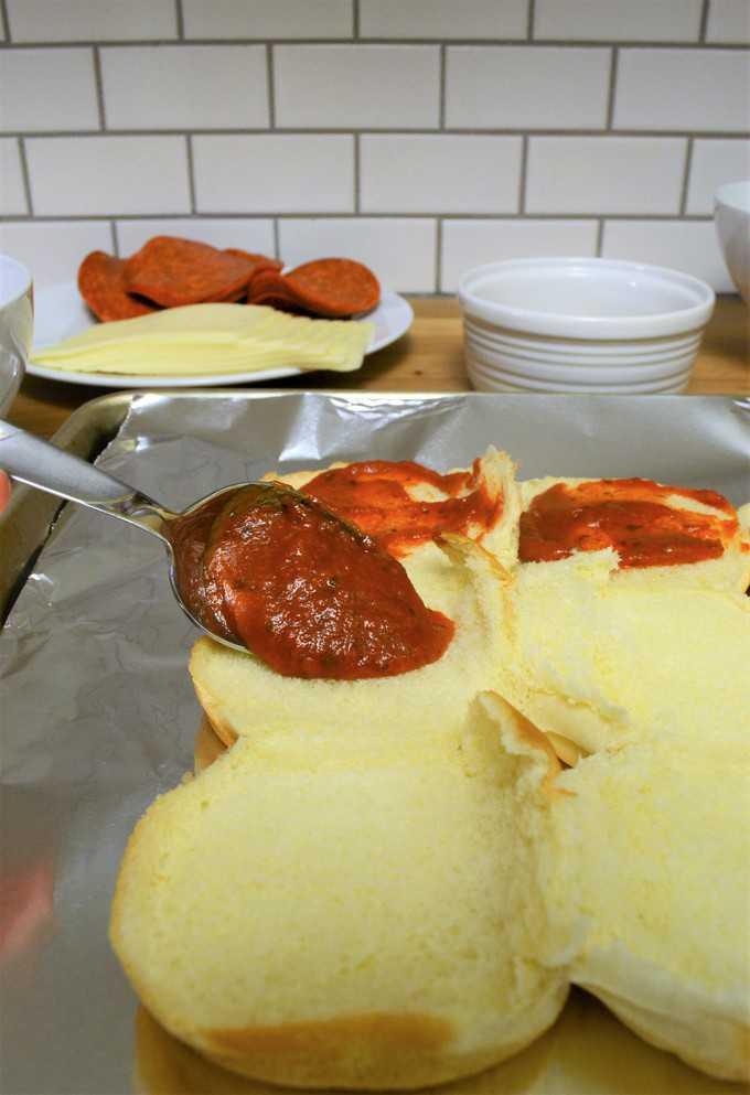 pizza sliders recipe
