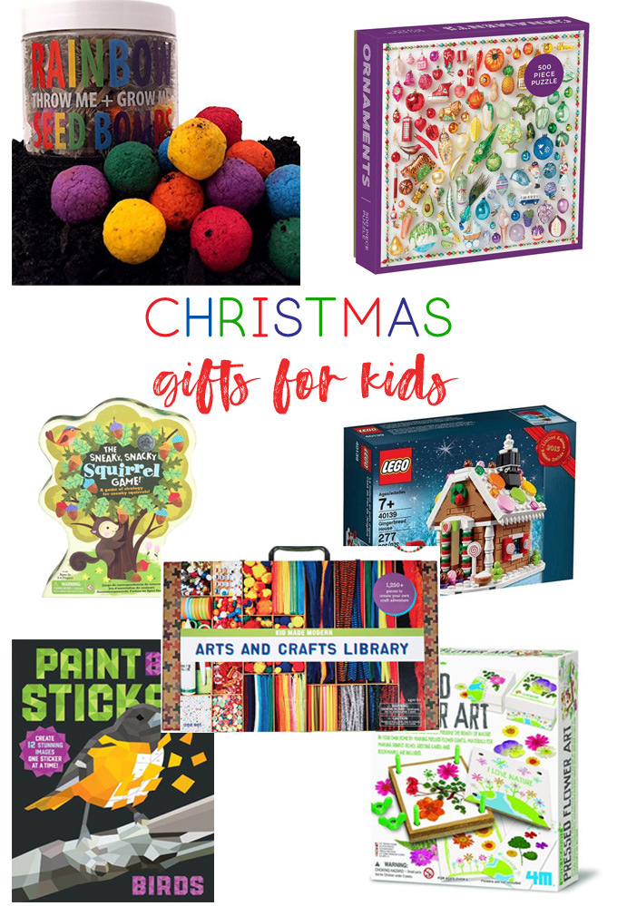christmas gift ideas for kids | kids christmas gifts | amazon | art kit | puzzles | kids gifts | christmas