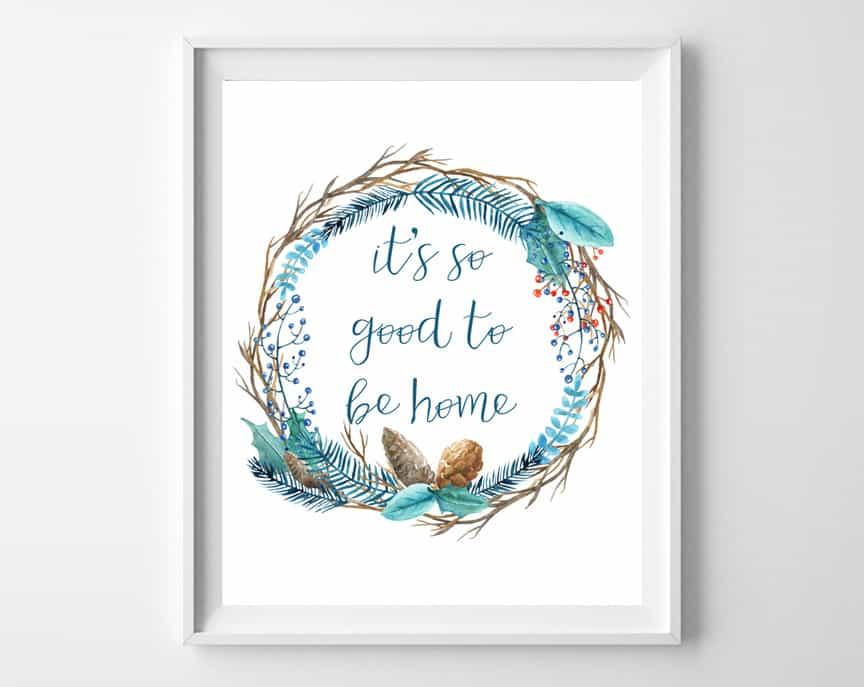 home free printable
