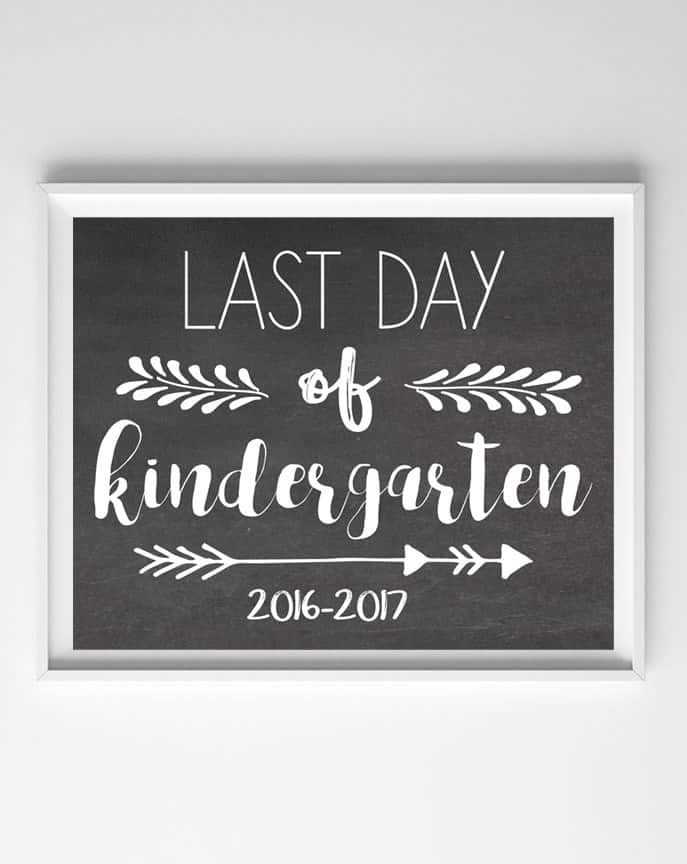 last day school printable