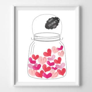 modern valentine's day crafts and decor