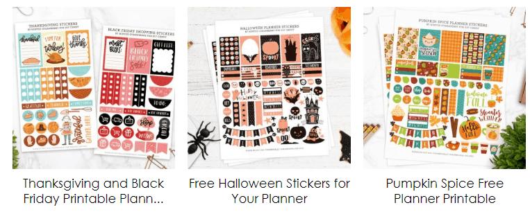 happy planner printables 2