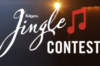enter the folgers jingle contest!