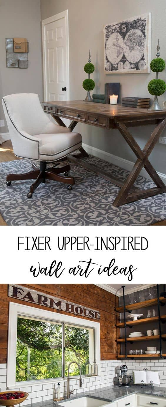 fixer upper wall art ideas