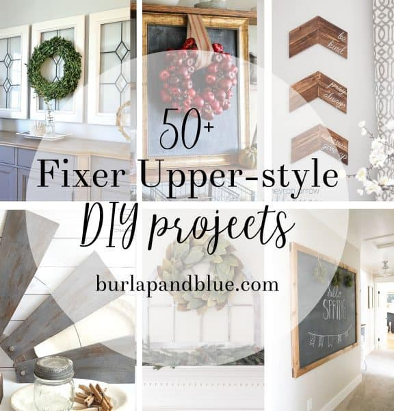 50 fixer upper diy projects and tutorials for Fixer upper christmas special 2017
