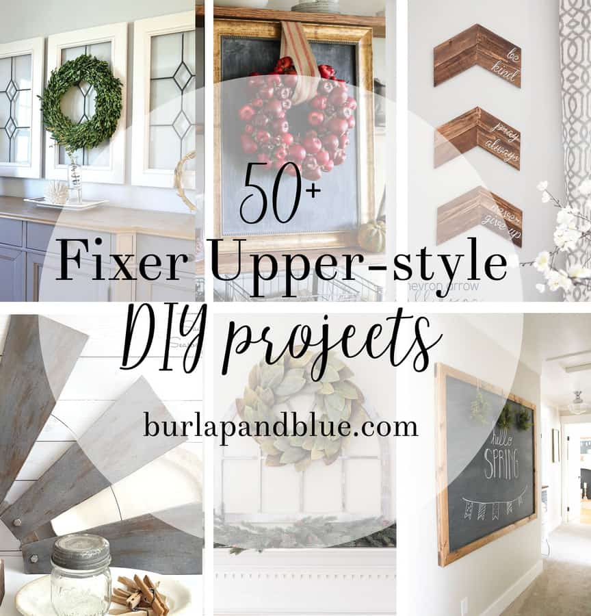 fixer upper diy
