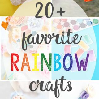 20+ rainbow crafts and DIYs