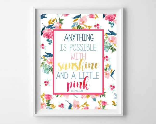 lilly pulitzer printable