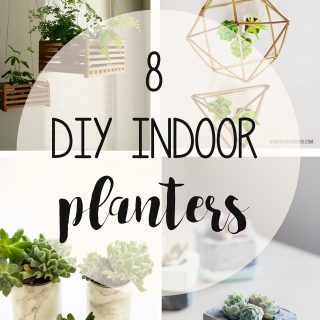 diy indoor planters