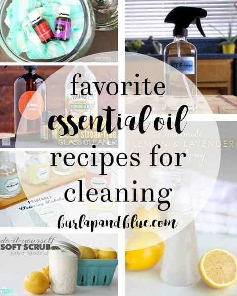 essential oil recipes cleaning