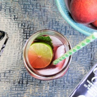 summertime sipping with TAZO® passion tea mint limeade {a recipe}