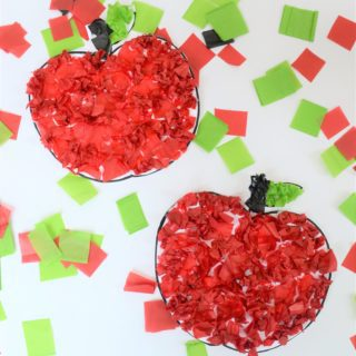 Easy Apple Craft for Back-to-School with Wet Ones®