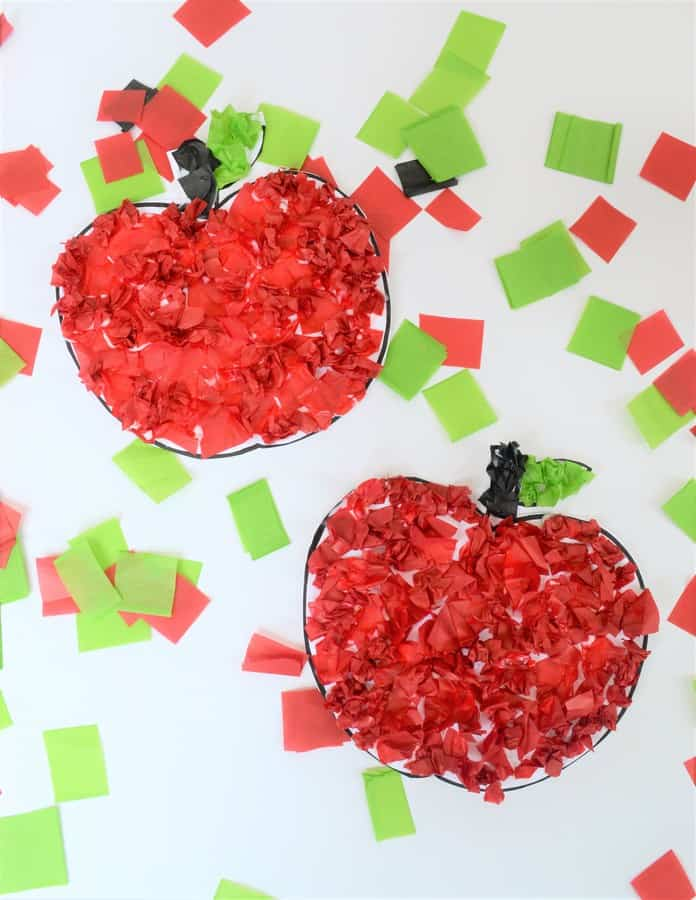 easy apple craft 3