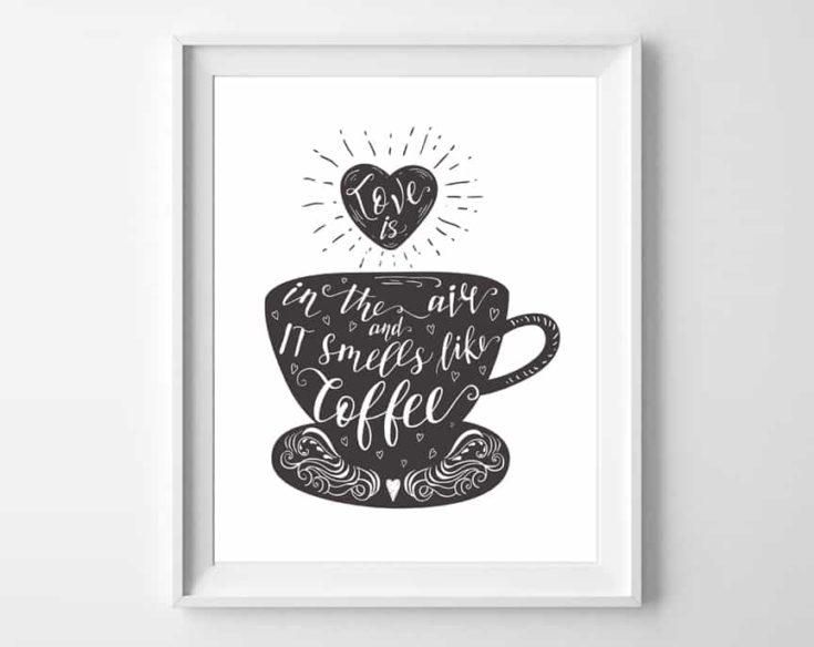 Coffee Printable Wall Art