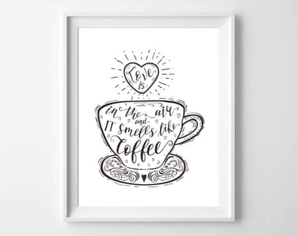 coffee printable