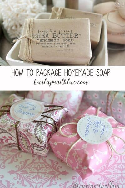 homemade soap packaging ideas