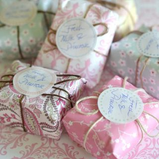 how to package homemade soap