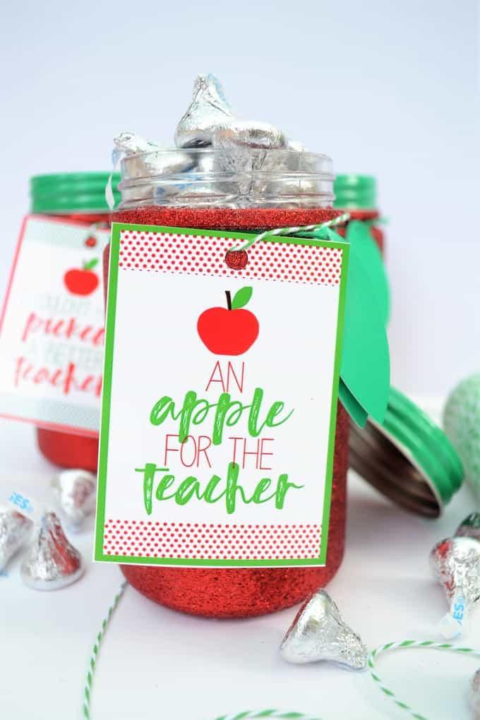 apple gift idea teachers