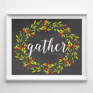 fall free printables {gather}