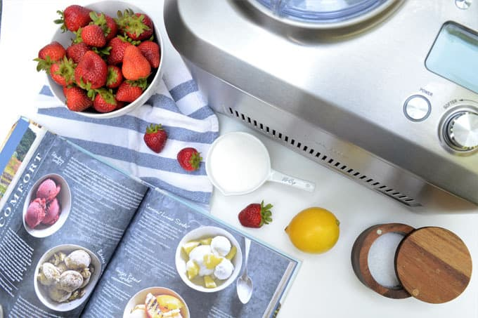 how to make strawberry sorbet 2
