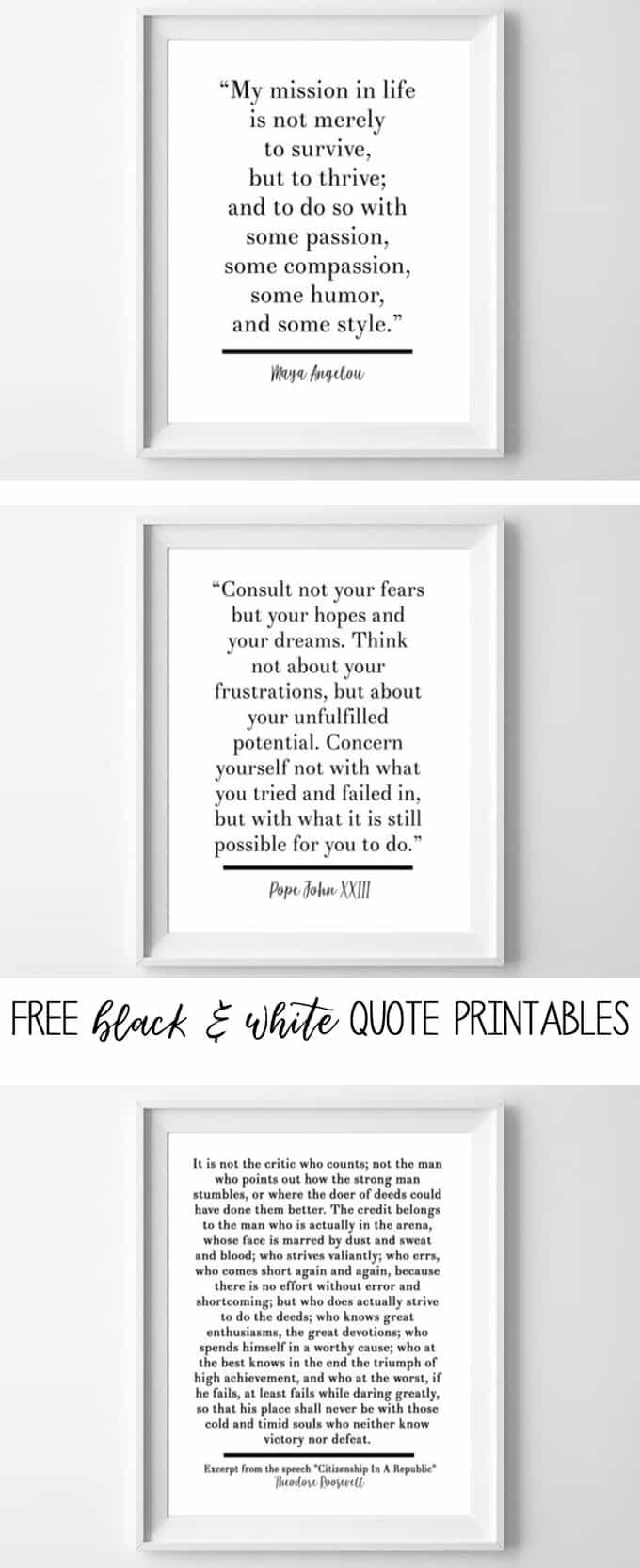 Free Printable Quotes