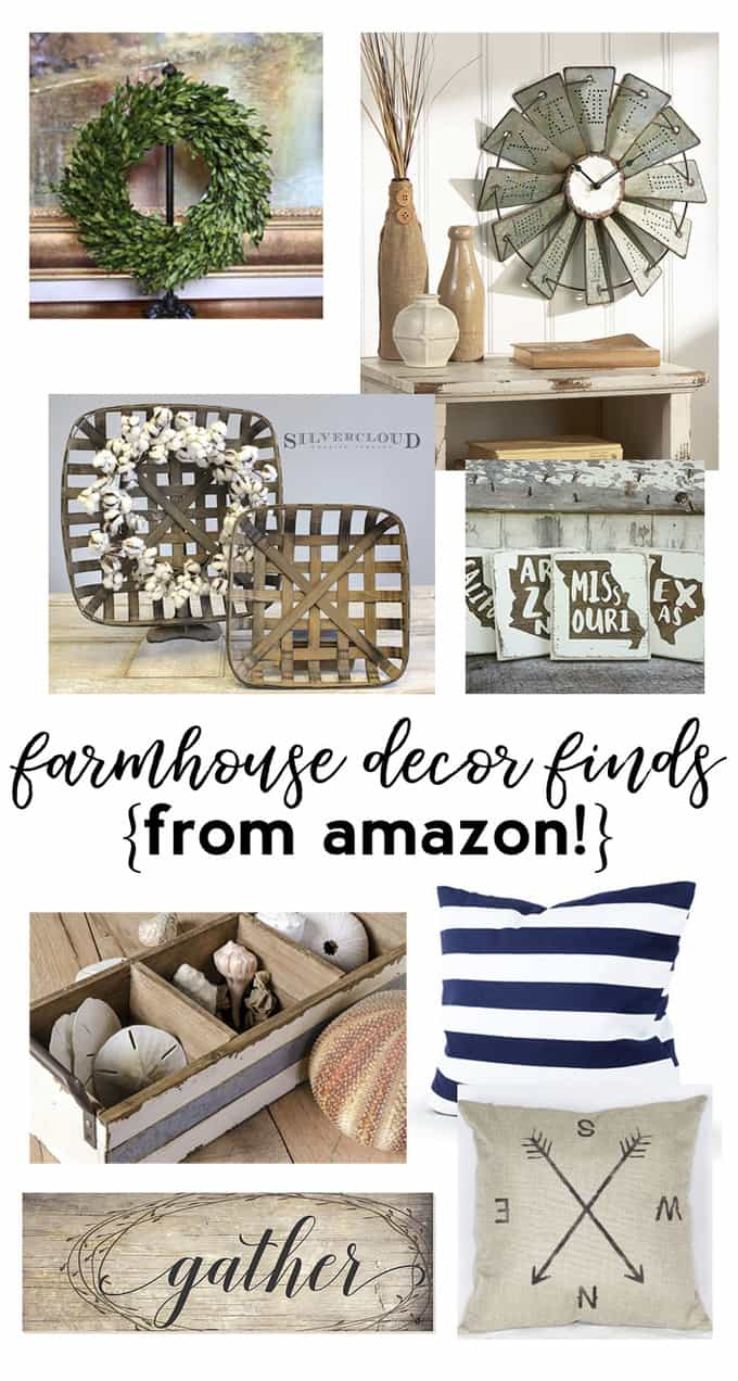 farmhouse decor amazon