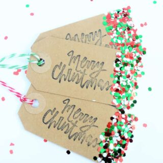 Christmas Gift Tags {a Tutorial}