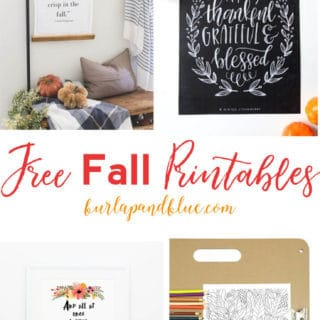 FALL ART AND FREE PRINTABLES