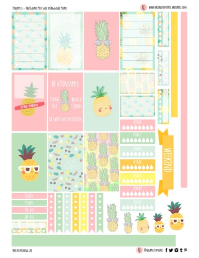 printables for planner