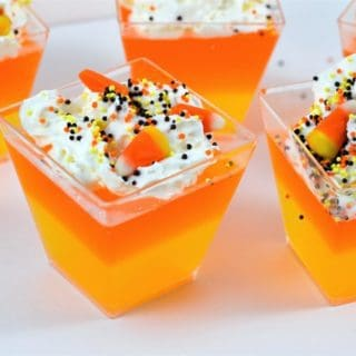 No Bake Halloween Treats {Make Candy Corn Jello}