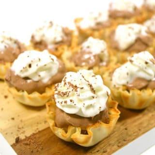 chocolate cheesecake bites recipe 3