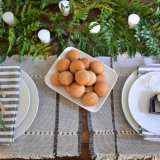 Easy Tablescape and Entertaining Ideas
