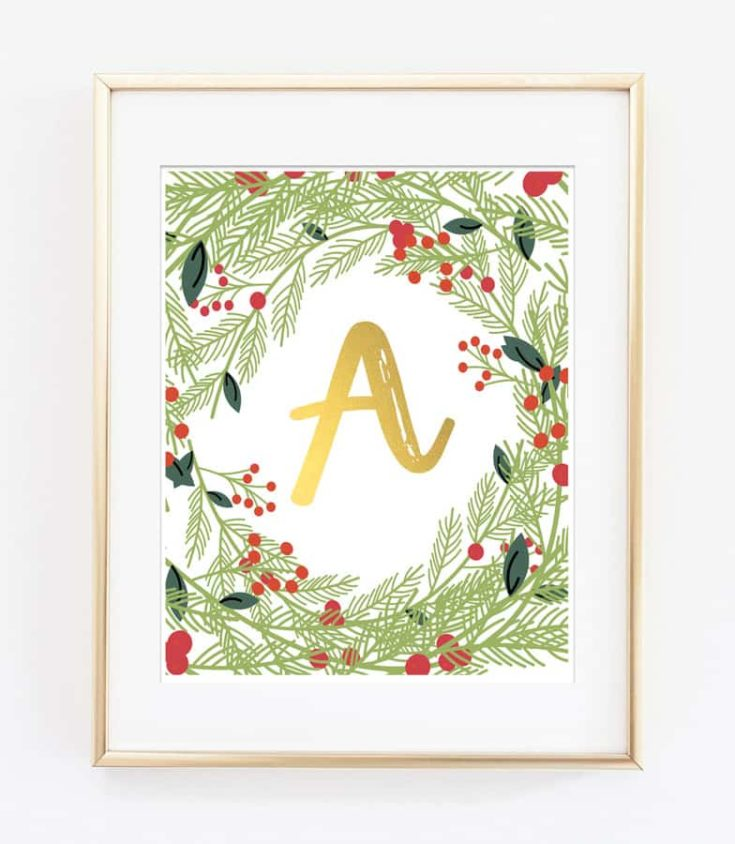 picture relating to Christmas Art Printable identified as Cost-free Printables for the Household