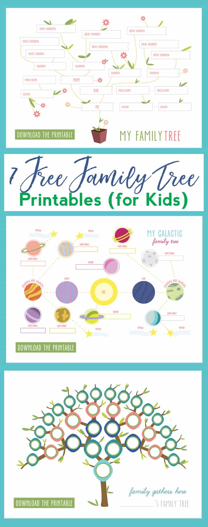 kids family tree activity
