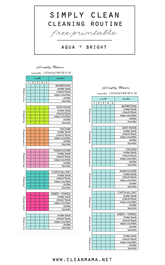 free printables to help you organize every aspect of your life