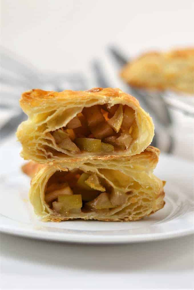 puff pastry apple turnovers 7