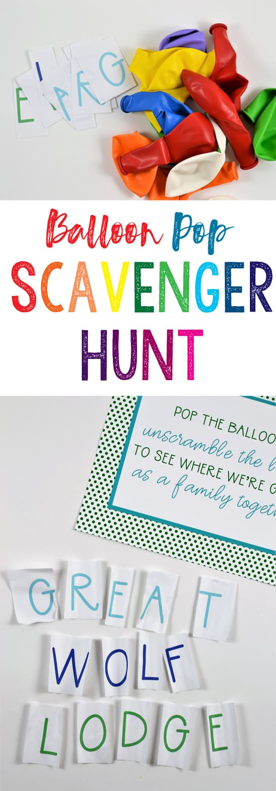 scavenger hunt kids | balloon pop | scavenger hunt | kids activities | kids | traveling with kids