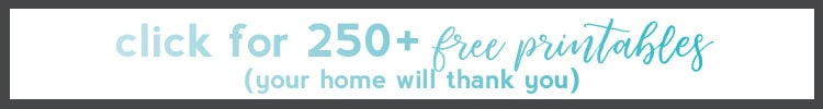 free printables for home