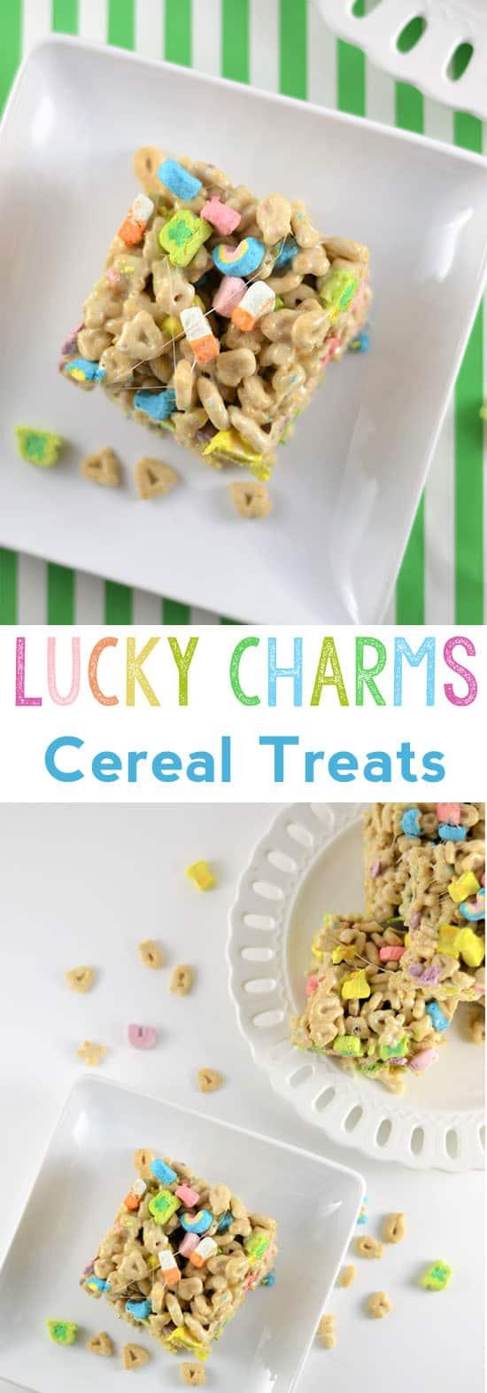 st patricks day treat | lucky charms treats | marshmallow squares | saint patricks day | recipes | dessert recipe | classroom treat | spring recipes