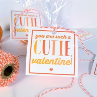 You Are Such a Cutie {Free Printable Valentine}