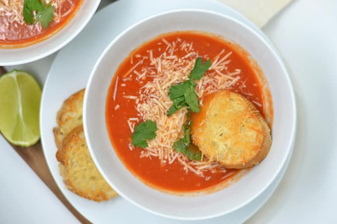 how to make tomato soup 1