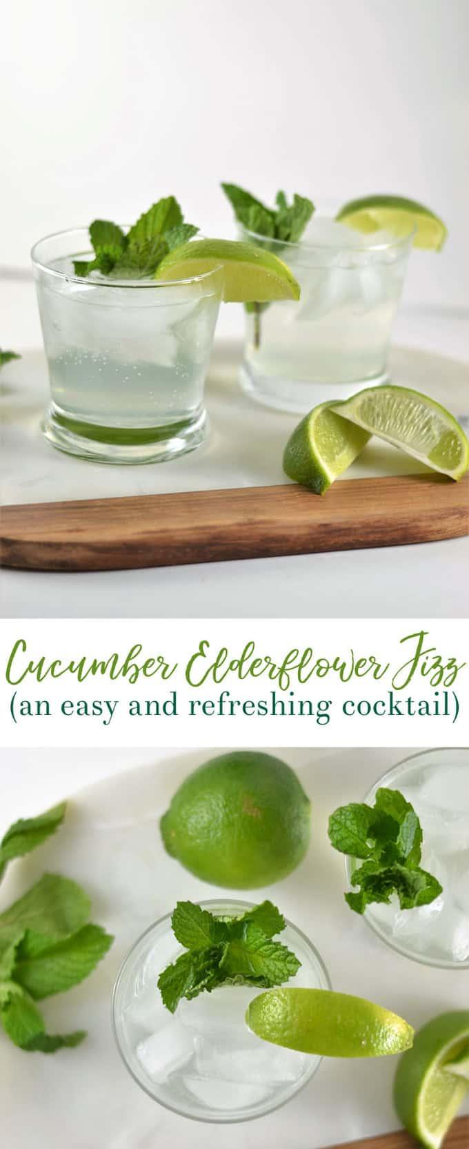 cucumber vodka drink 1